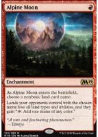 Alpine Moon (M19)(FOIL)
